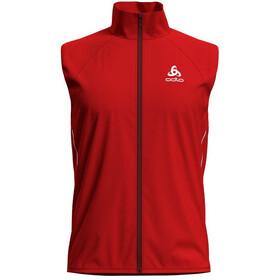 Odlo Zeroweight Windproof Warm Vest Men fiery red